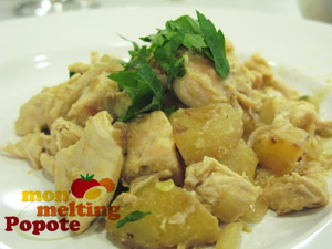 fricasse-poulet